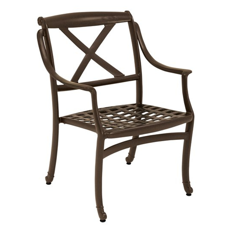 BelMar Cast Dining Chair with X-Back