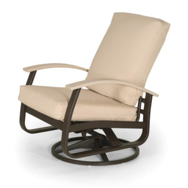 Belle Isle Cushion Chat Height Swivel Rocker