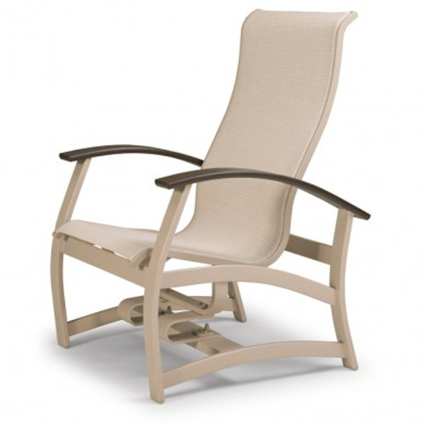 Belle Isle Sling Hidden Motion Chat Chair