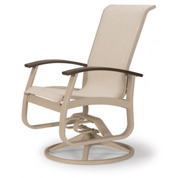 Belle Isle Sling Swivel Rocker