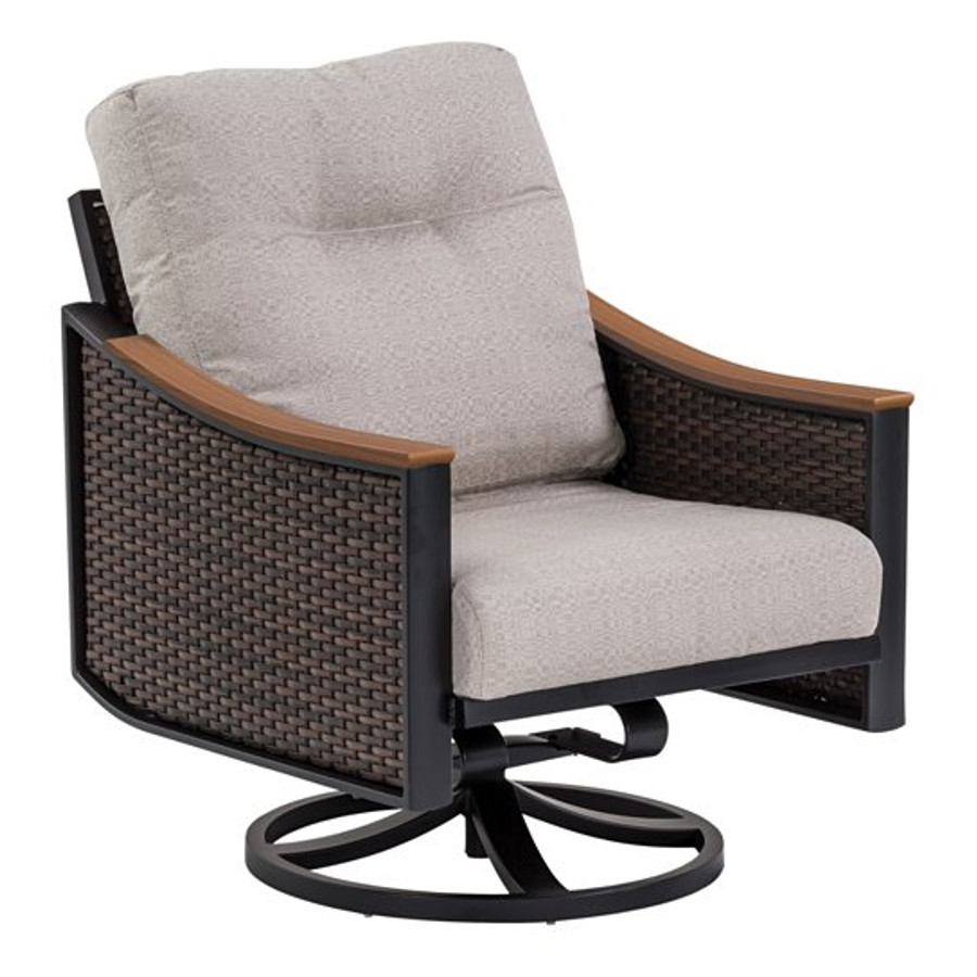 Brazo Woven Swivel Action Lounger