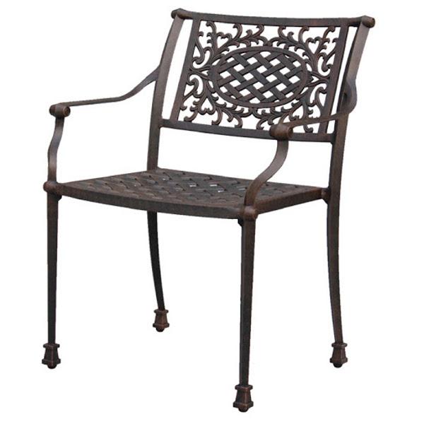 Dublin Metal Dining Chair: Viking Casual Furniture
