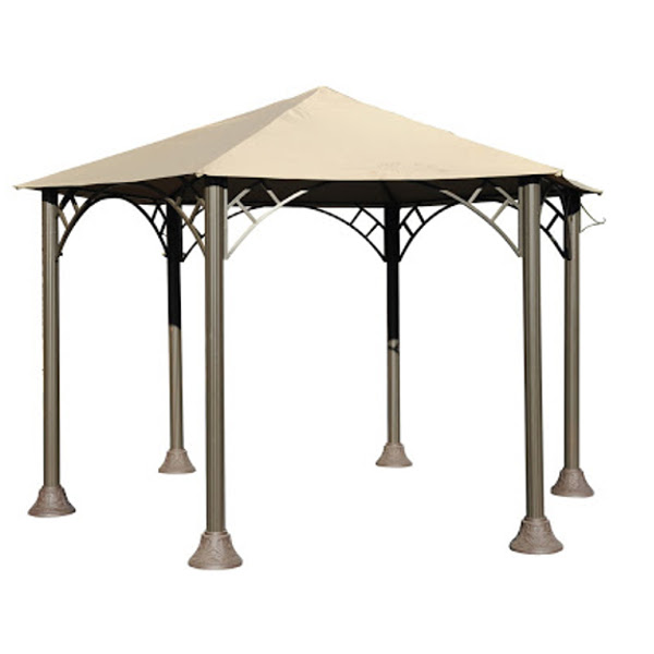 Hexangular Gazebo - 10'