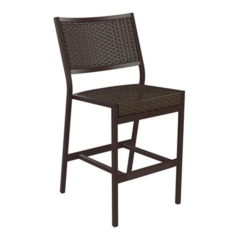 Cabana Club Woven Armless Bar Stool