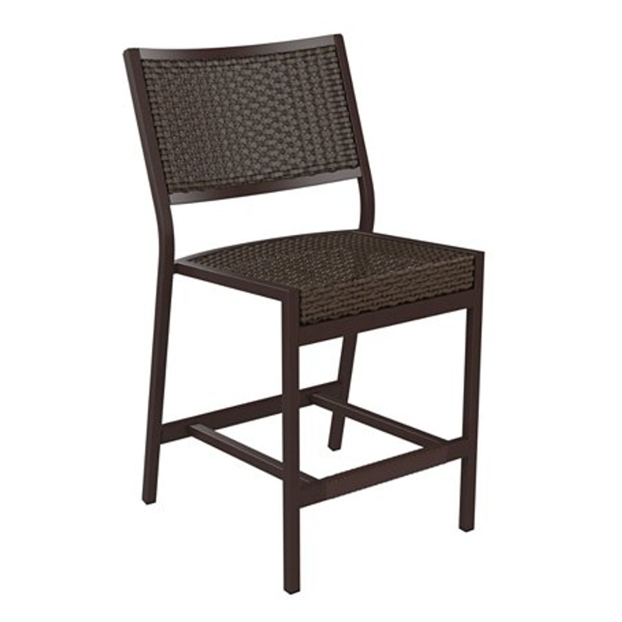 Cabana Club Woven Armless Counter Height Stool
