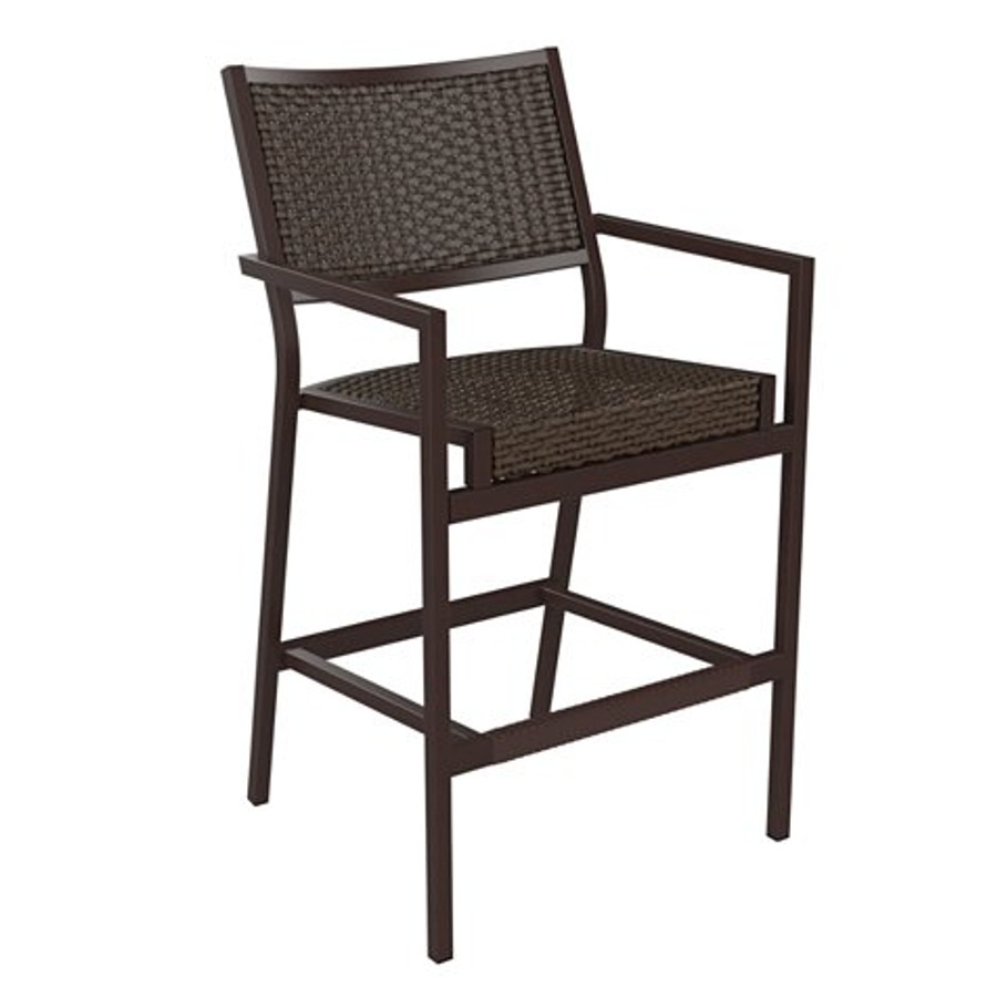 Cabana Club Woven Bar Stool