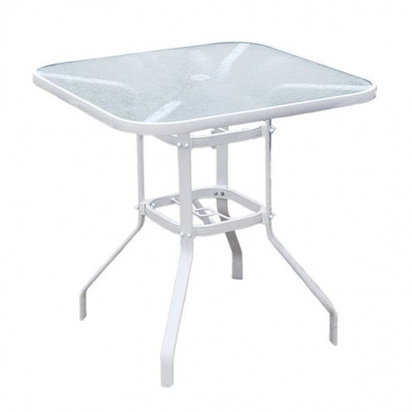 Alum/Sling Capri Dining Table 30""