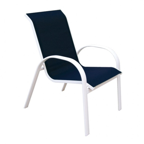 Alum/Sling - Capri Chair