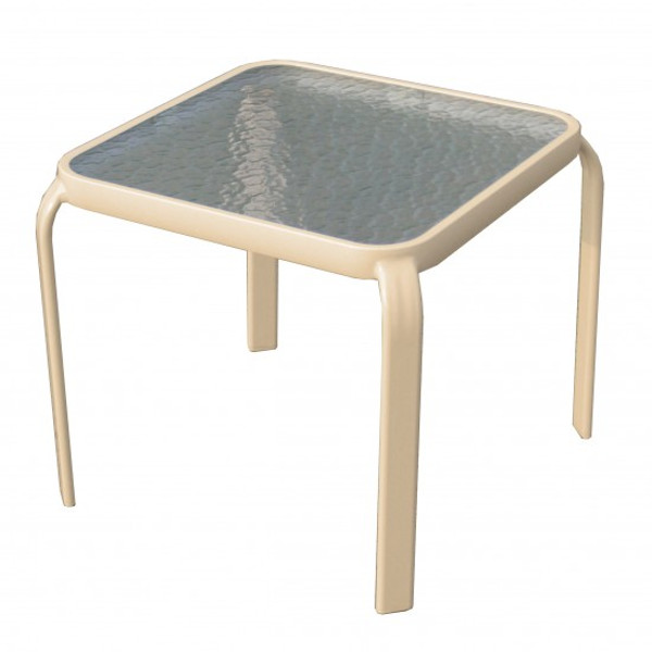 Alum/Sling Capri Side Table