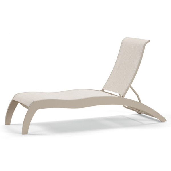 Dune MGP Sling Stacking Armless Chaise