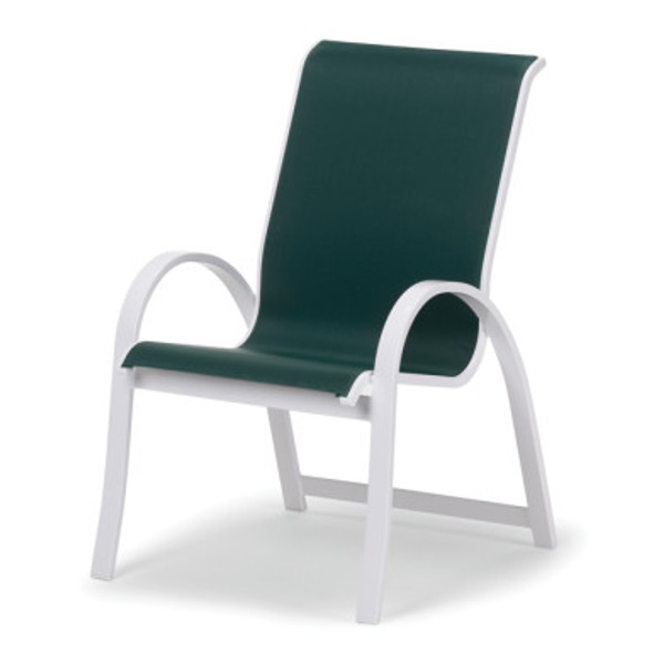 Fortis Contract Sling Stacking Arm Chair