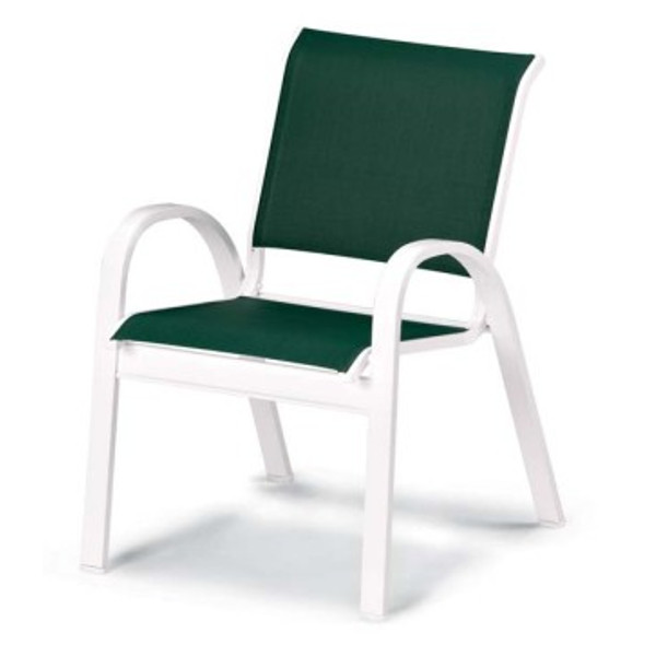 Fortis Contract Sling Stacking Cafe Chair