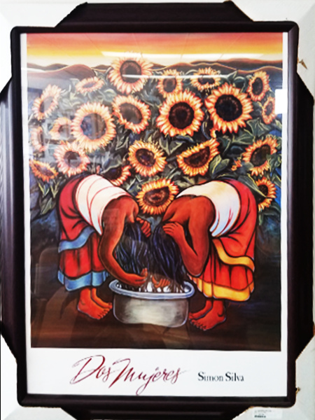 Framed Artwork - Dos Mujeres