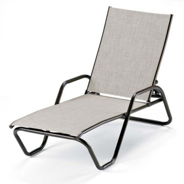 Gardenella Sling Four-Position Stacking Chaise
