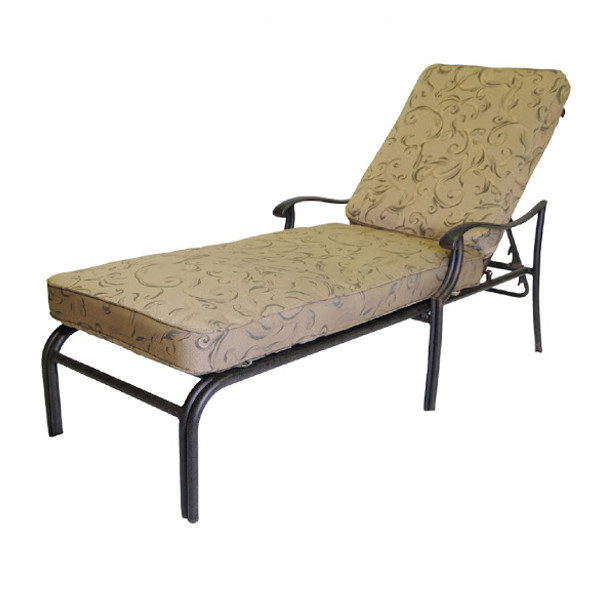 Dwl patio furniture viking casual furniture page 4 for Cast iron chaise lounge