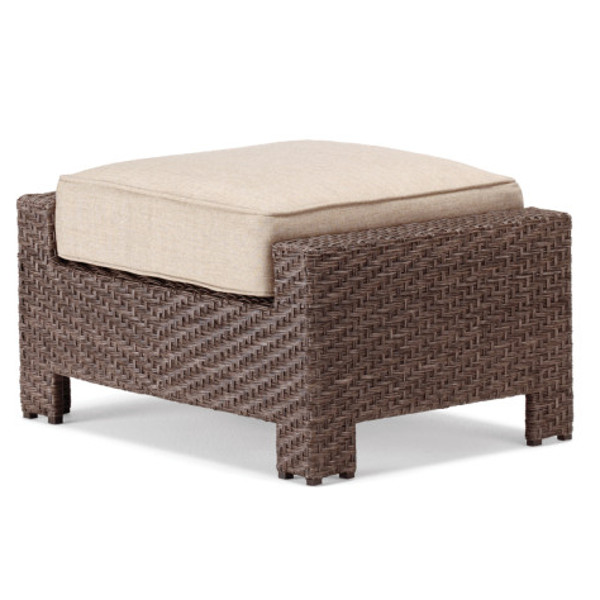 Lake Shore Wicker Ottoman