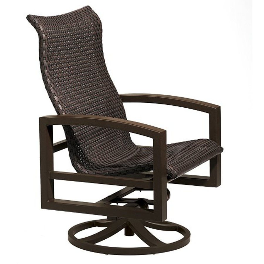 Lakeside Woven Swivel Action Lounger
