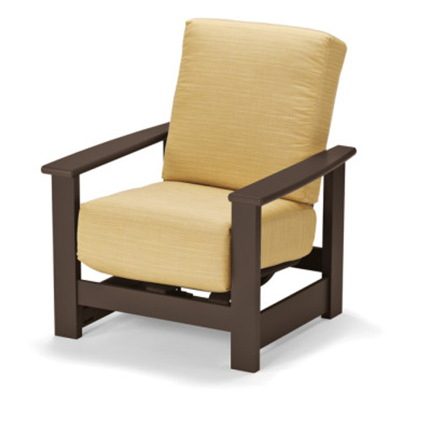 Leeward Cushion Hidden Motion Arm Chair