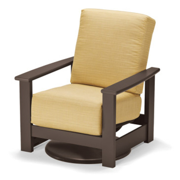 Leeward Cushion Swivel Hidden Rocker