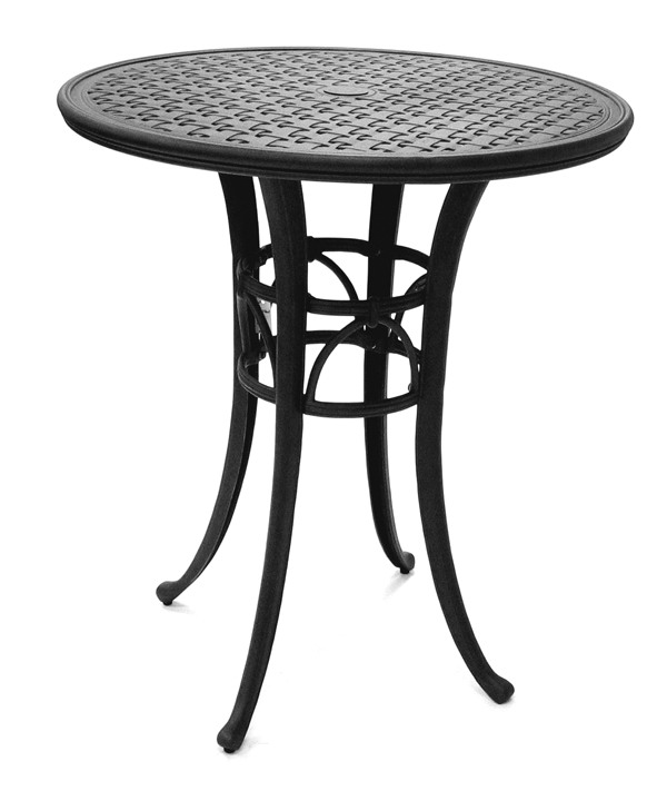 "Magnolia 42"" Round Cast Aluminum Pub Table"