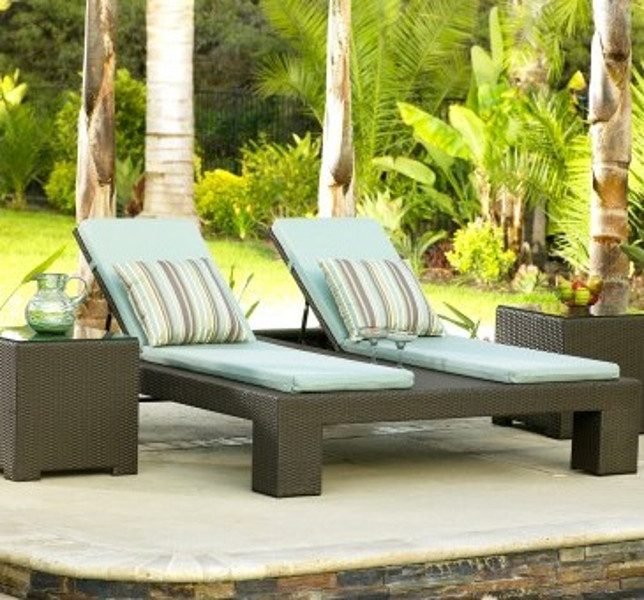 Malibu - Double Adjustable Chaise Lounge