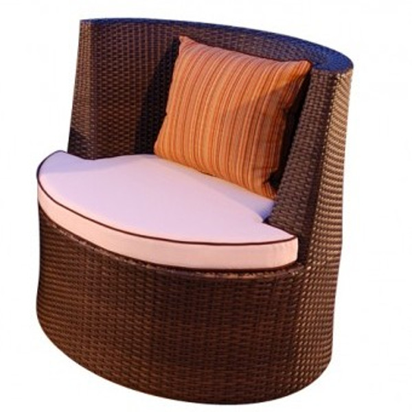 Malibu - Grande Chat Fixed Chair