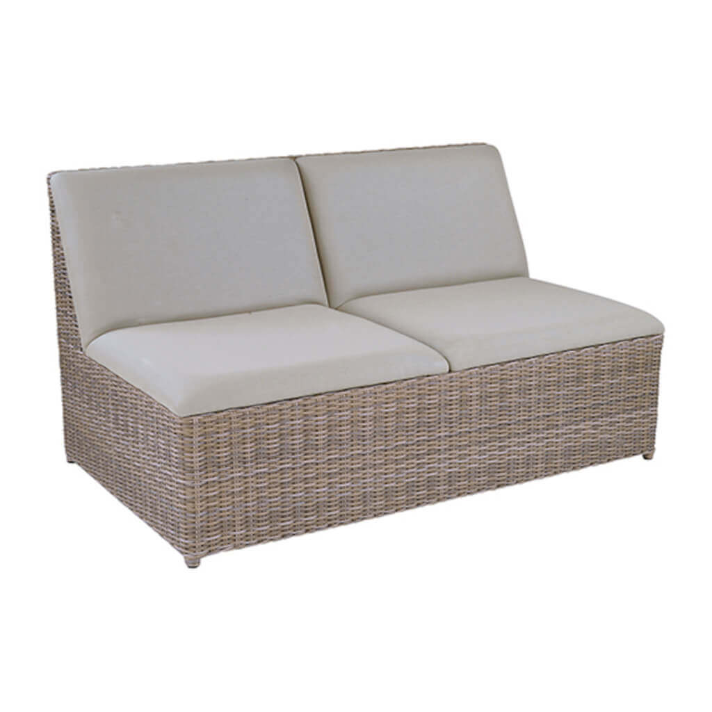 Milano Sectional Armless Settee