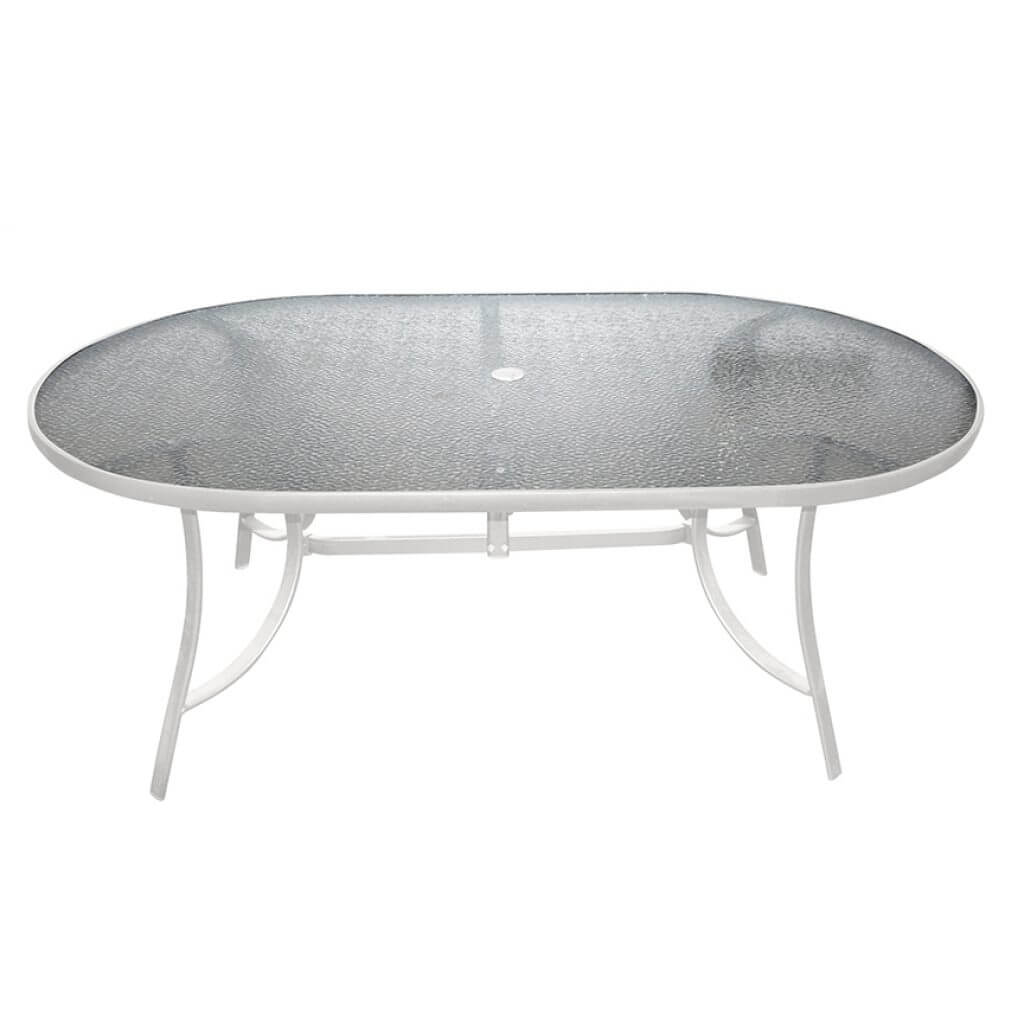 Capri Oval Dining Table 72""