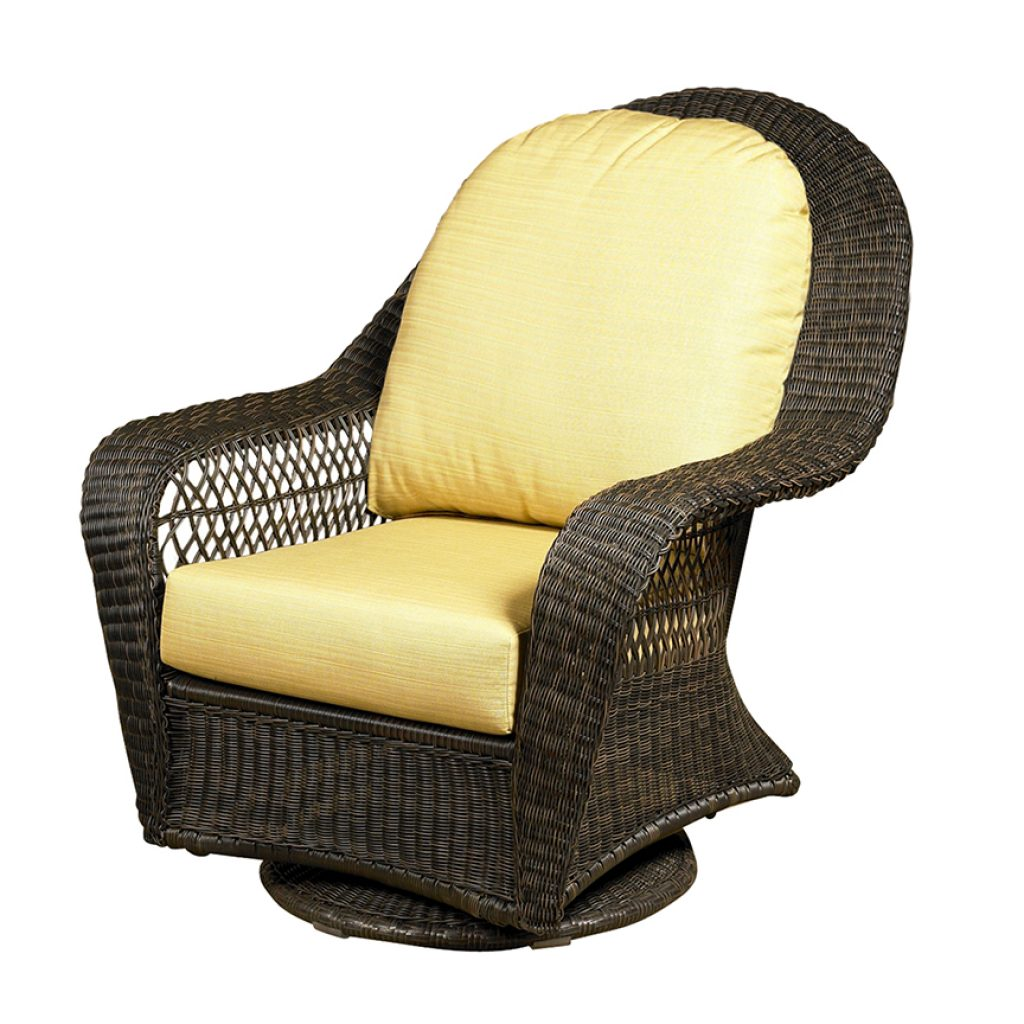Charleston High Back Swivel Glider