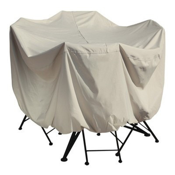 Round Table Cover w/ Chair Covers