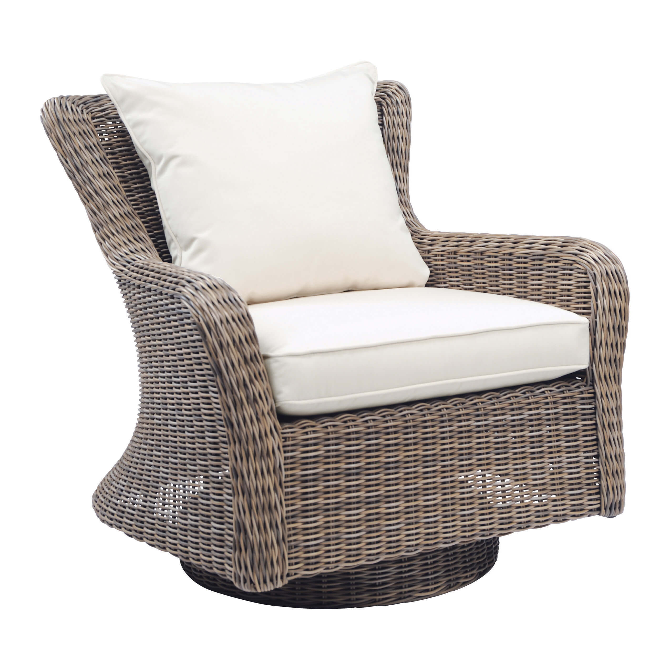 Sag Harbor Deep Seating Swivel Rocker Lounge Chair