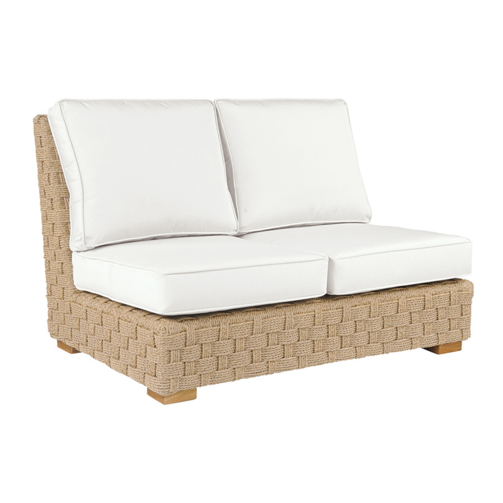 St. Barts Sectional Armless Settee