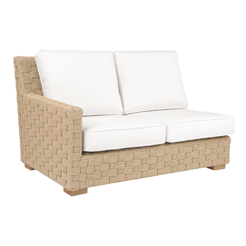 St. Barts Sectional Left Arm Settee