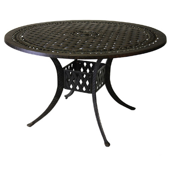 Dining Table - Basket Weave Pattern - 48""