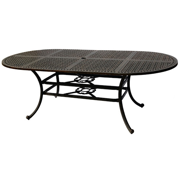 "Oval Table - 42"" x 84"""