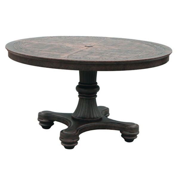 Table - Pedestal Bar - 54""