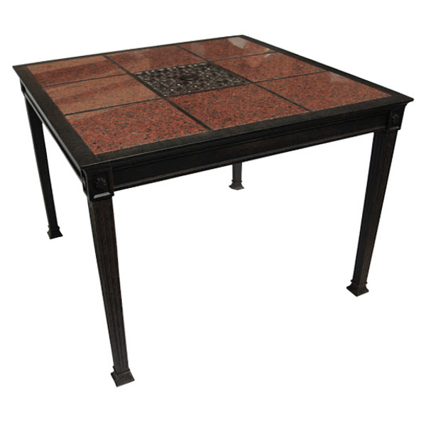 Dining Table - Granite Tile - 41""