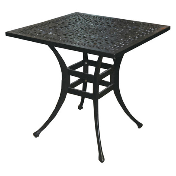 Side Table - Floral Pattern - 30""