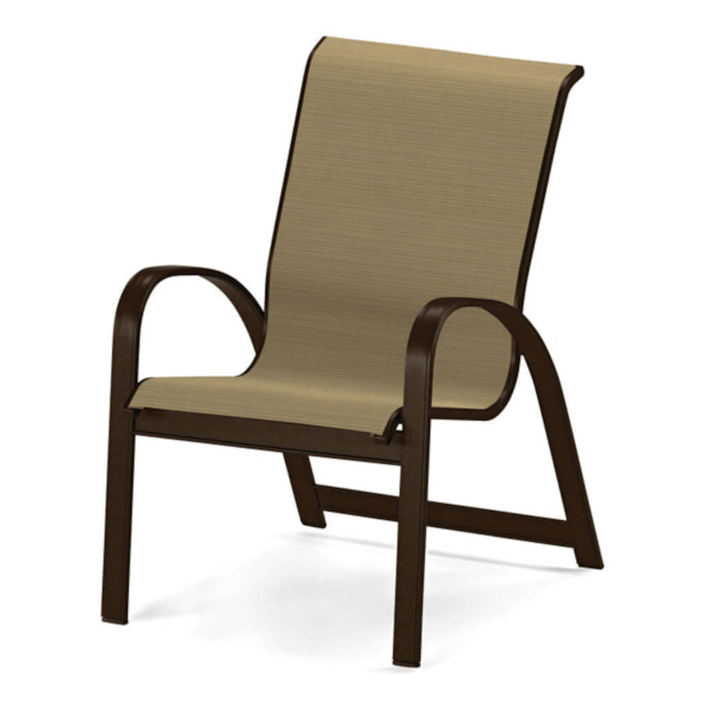 Primera Sling Stacking Arm Chair