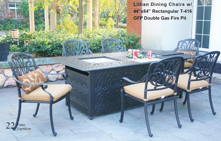 Lillian Fire Pit Seating Group