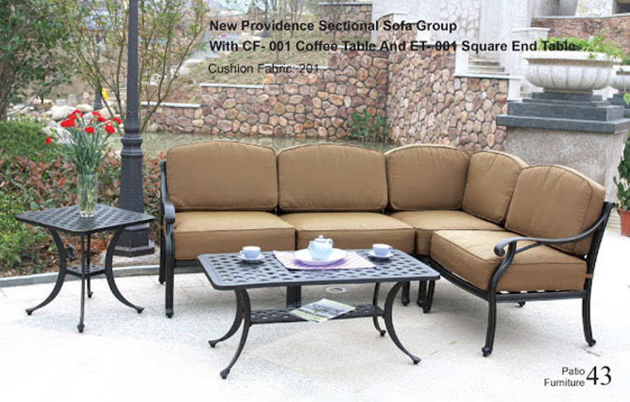 The New Providence Collection Sectional Sofa Group