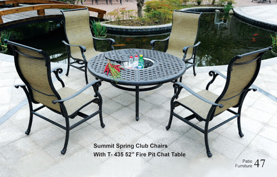 The Summit Collection Spring Club Chair Set