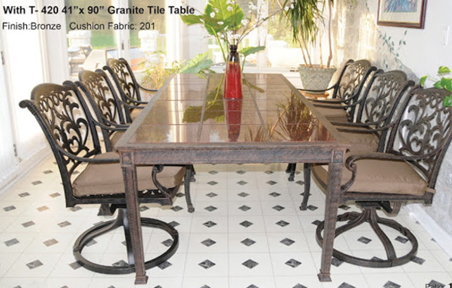 The Valencia Collection Dining Set