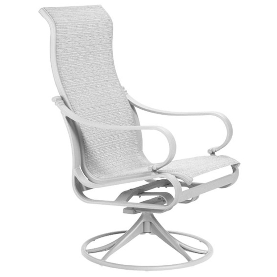 Torino Sling High Back Swivel Rocker