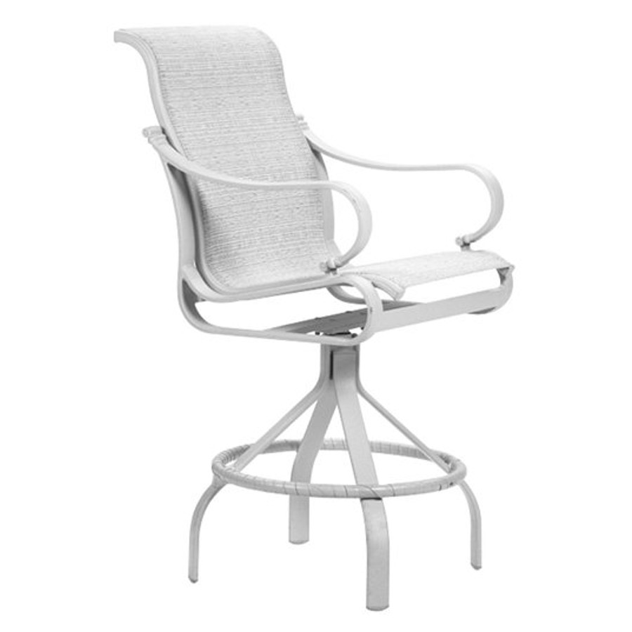 Torino Sling Swivel Bar Stool
