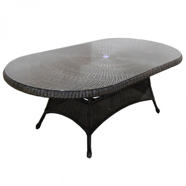 "Universal - Dining Table 84"" Oval"