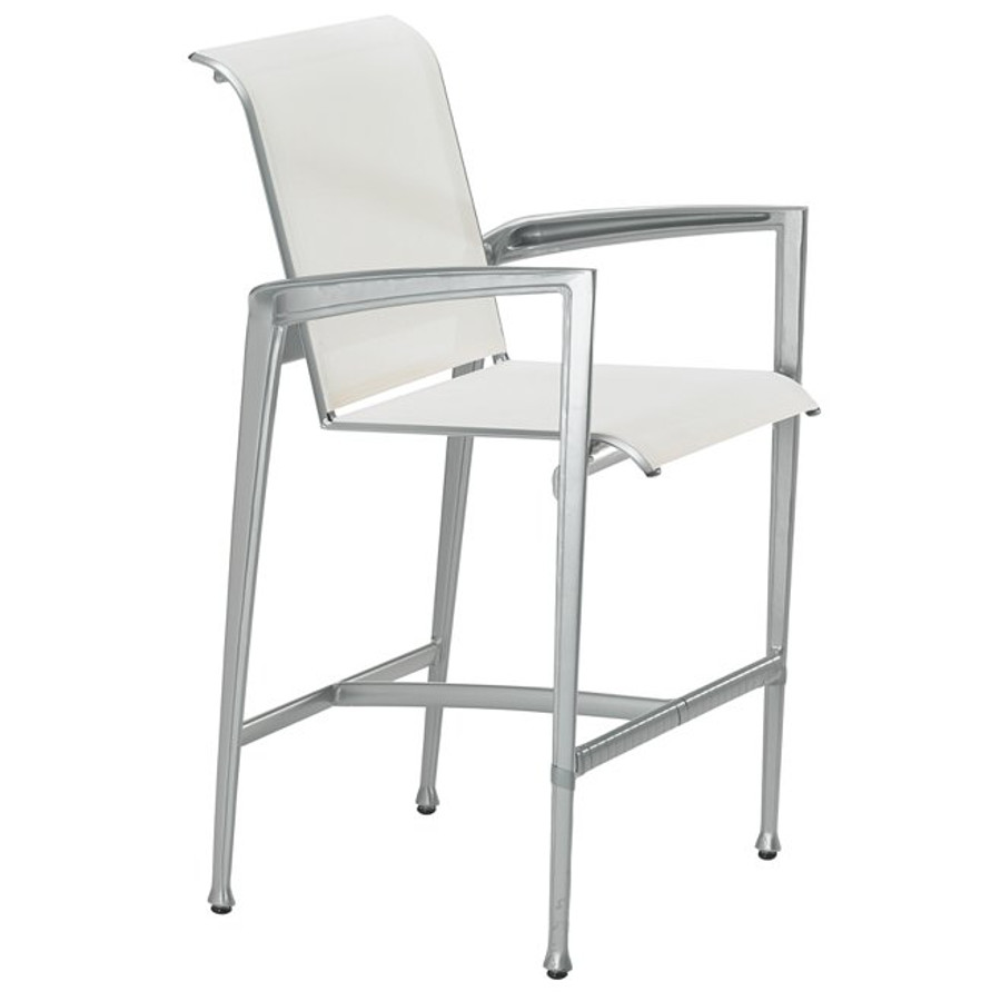 Veer Sling Stationary Bar Stool