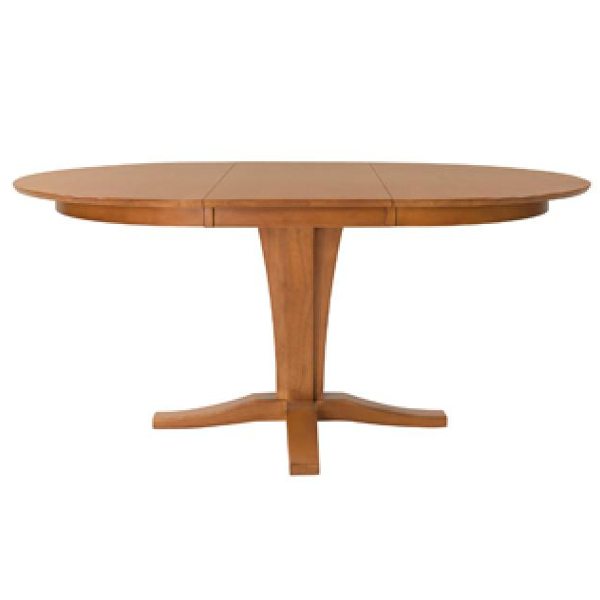Milano Table Base - Aged Cherry