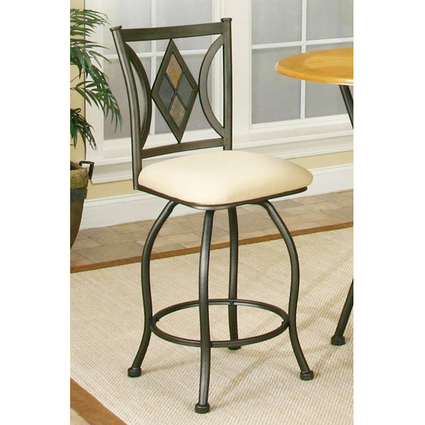 Dart Herringbone Counter Stool