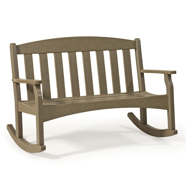 Skyline Rocker Bench